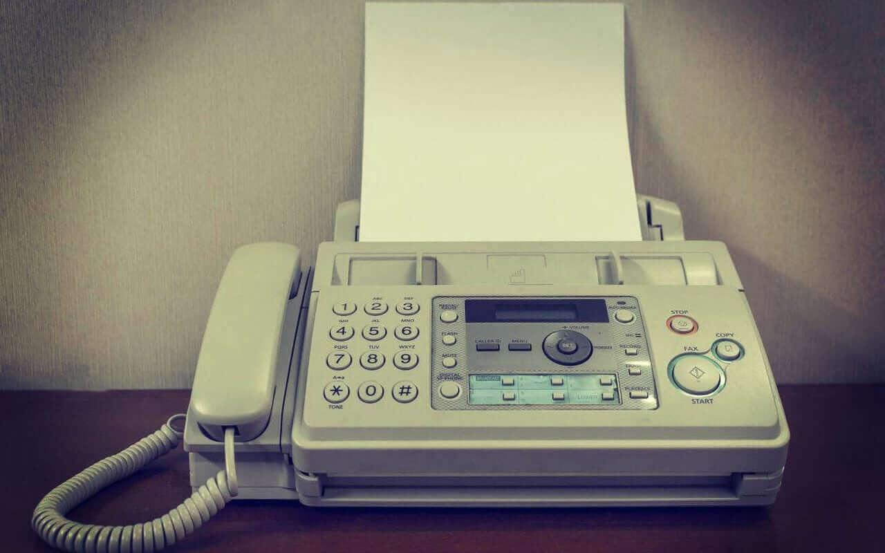 fax-machine