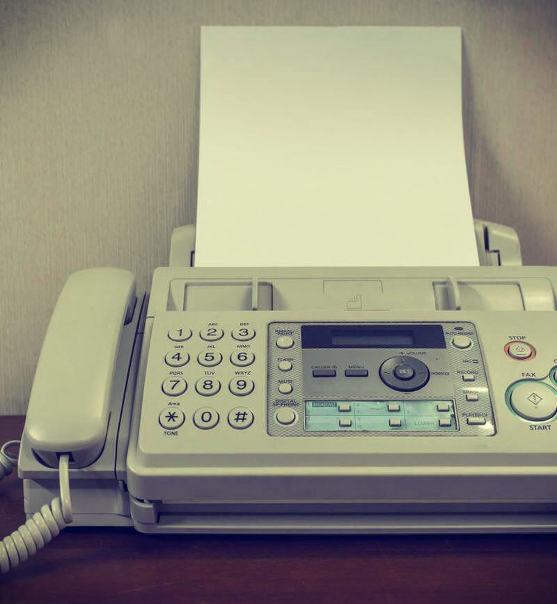 Time To Face the Fax